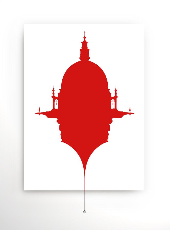 basilica volante Rosso